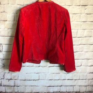 JG Hook Jackets & Coats - Vintage JG Hook Red Waist Length Jacket Women's 12